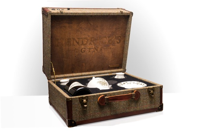 Hendricks Gin BoomBox Sound System BoomCase Harris Tweed