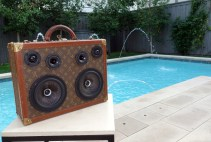 Louis Vuitton BoomBox BoomCase Custom Suitcase