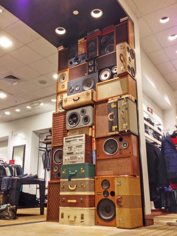 Speaker Wall of Sound by BoomCase