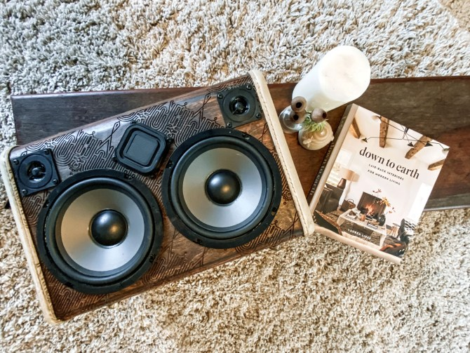 laser etched wood boombox boomcase australia wooden vintage suitcase boomboxes speaker