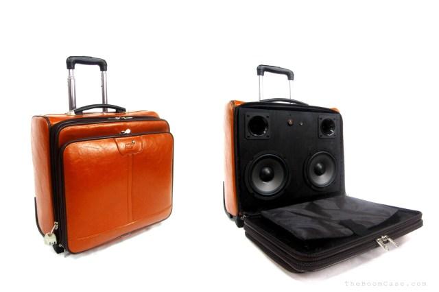 montblanc leather suitcase