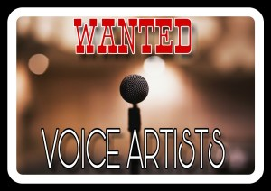 Voice Artists Wanted