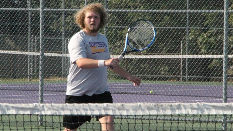Tennis team will host upcoming match