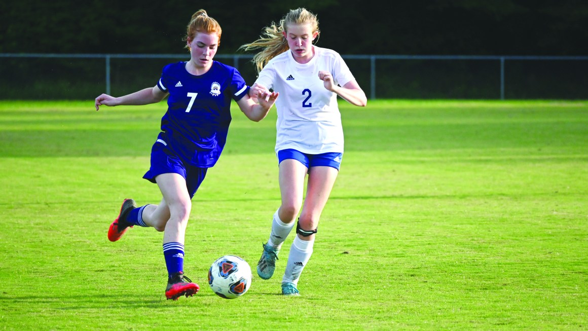 Girls soccer grows together on, off field