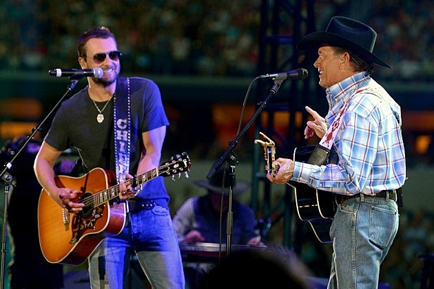 Image result for eric church and george strait