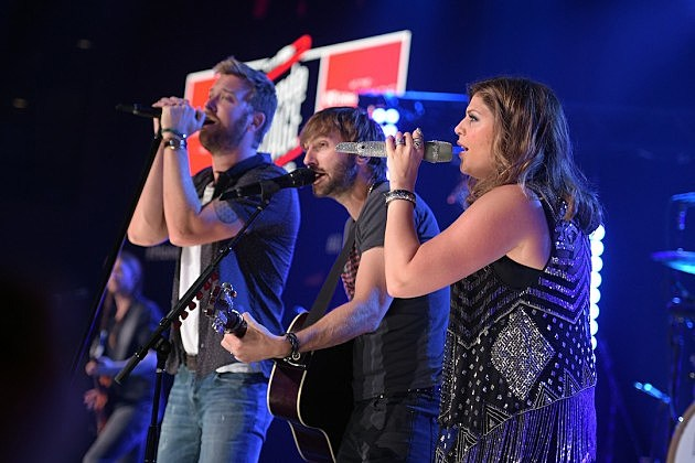 Lady Antebellum Tour Break