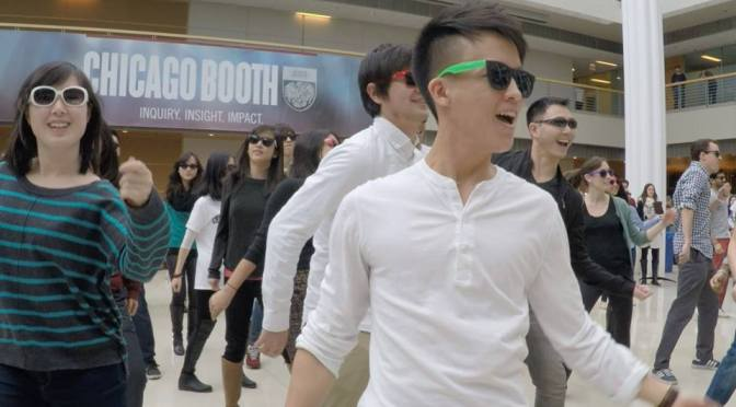 South Side Uptown Funk <BR />(Booth First Day Flash Mob)