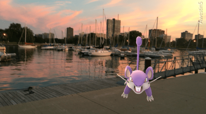 Chicago: Through the Eyes of a Pokémon Go Trainer