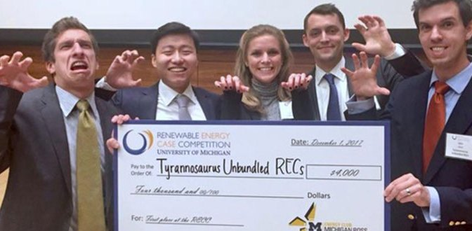 How Booth Won the Ross Renewable Energy Case Competition