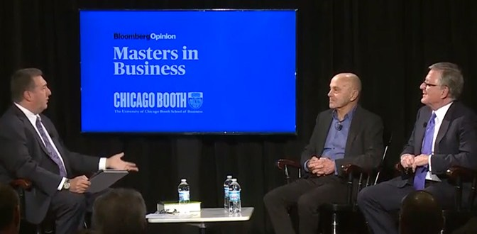 Masters in Business: A Fireside Chat with David Booth and Eugene Fama