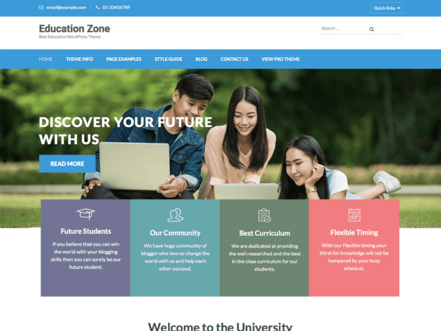 WordPress College Templates