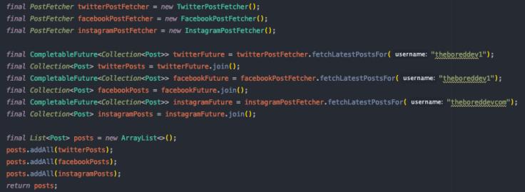 Sequential API calls