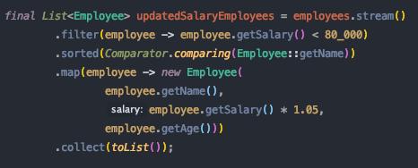 Java stream sort
