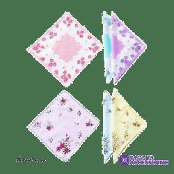 Ladies Mini Rose Handkerchiefs