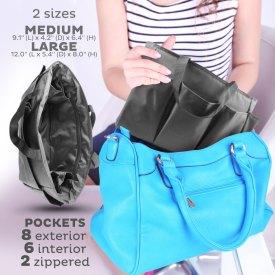 Handbag Organizers for quick transfers