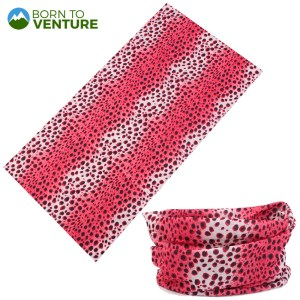 Pink Spotted Animal Prints Magic Headband