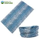 Blue Spotted Animal Print Magic Headband
