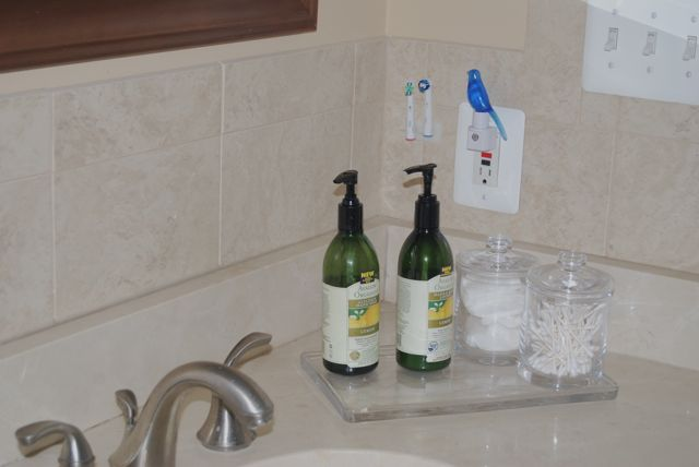 Bathroom Decor and Organization Update & Wall-Mounted Vase ... on Decorative Sconces Don't Need Electric Toothbrush id=72281