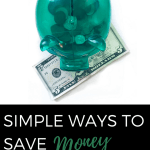 Start Saving Money in 2018-It can be easy!