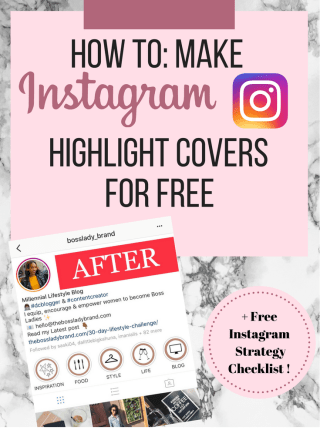 Instagram Highlight Covers Pin