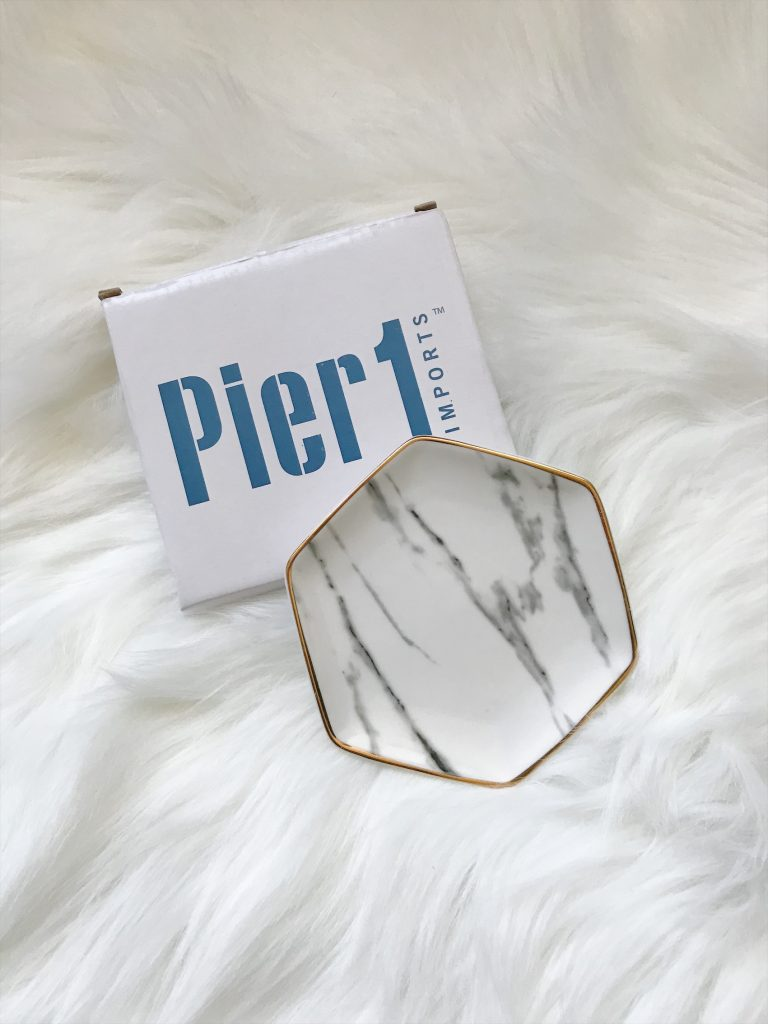 Pier 1 Marble Tray