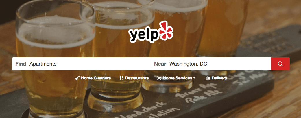 Yelp for Aparment Search