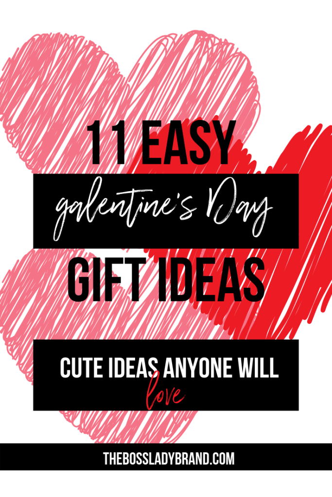 Galentine's Day is right around the corner! If you haven't picked out something yet for your best girls, these are some easy and fun ideas! #giftsforher #giftideas #giftguide