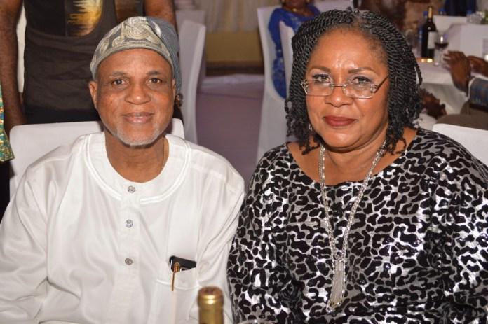 Mr, Biodun Shobanjo and his wife Mrs. Joy Shobanjo