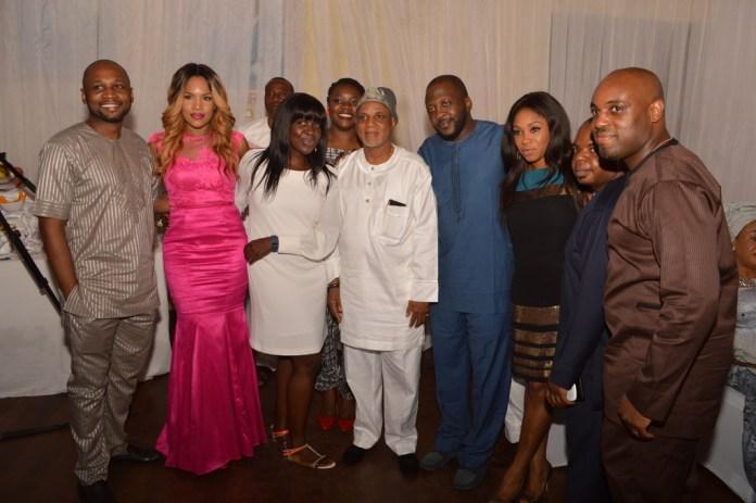 Mr. Biodun Shobanjo and family