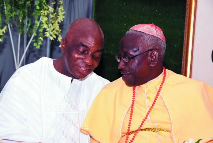 Bishop David Oyedepo & Methodist Prelate, Dr. Sunday Makinde