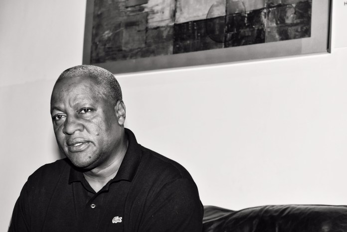 President Mahama, in deep sorrow after the loss of his dear mother at the State House, Accra, yesterday