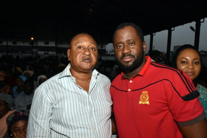 Jide Kosoko with Hon. Desmond Elliot
