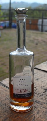 Cognac from Hlebec Winery
