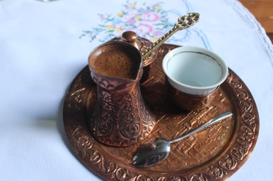 Deliciously strong Turkish Coffee from Sofra