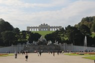 In the gardens of Schönbrunn Palace