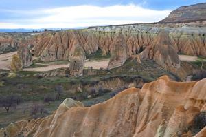 Stunning views across Rose Valley