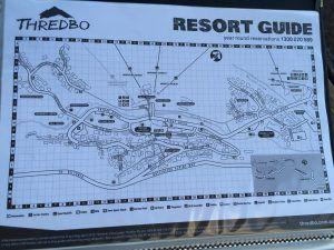 Map of Thredbo