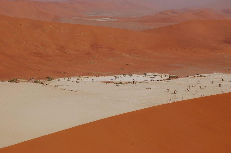 Dead Vlei Sossusvlei view from Big Daddy Dune