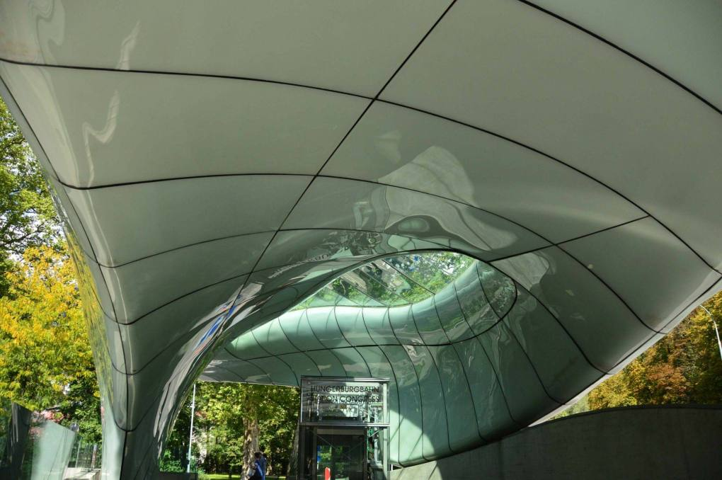 modern subway station hadid design innsbruck