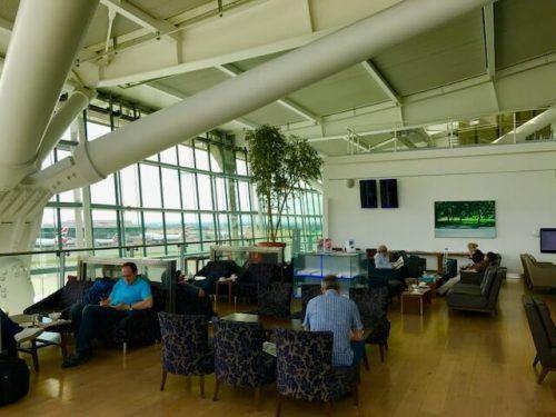 british airways lounge external area at heathrow terminal 5