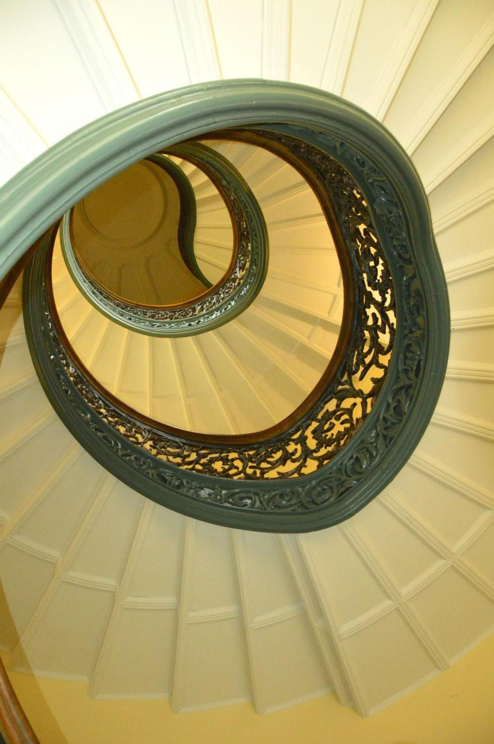 peabody institute spiral staircase