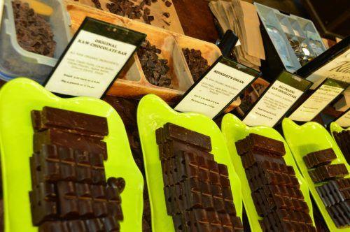 chocolates at halifax farmers market
