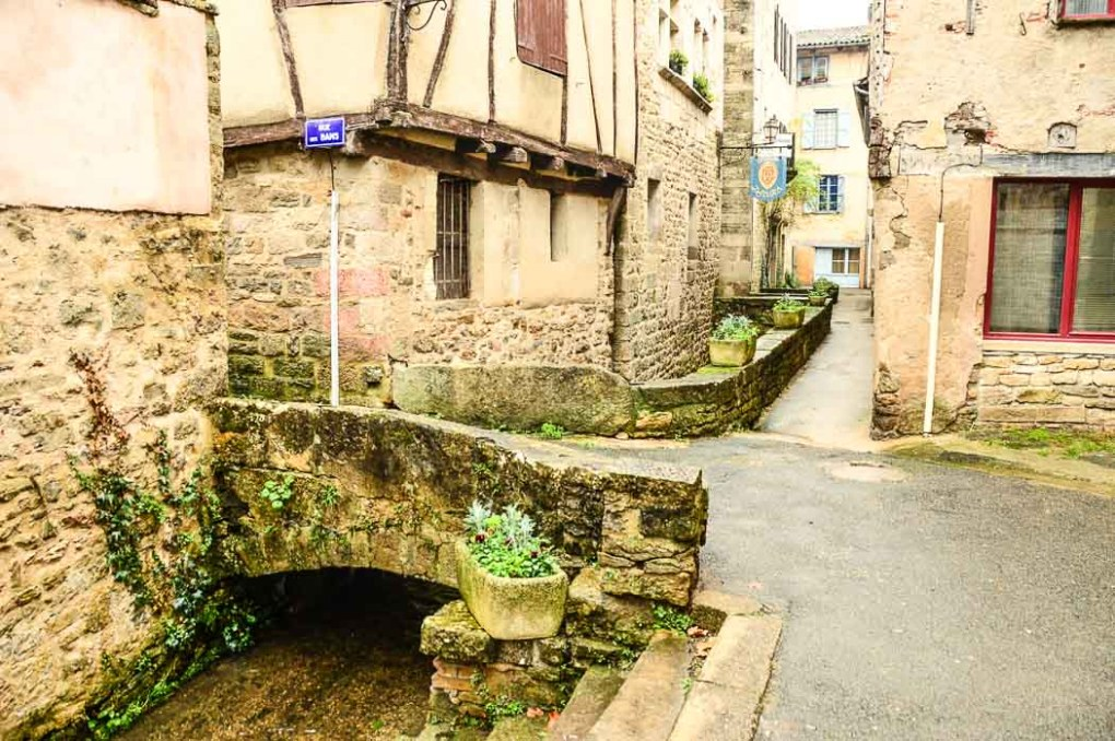 The streets of Saint Antonin Noble Val