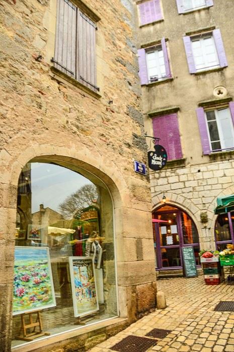 art store in st antonin noble val france