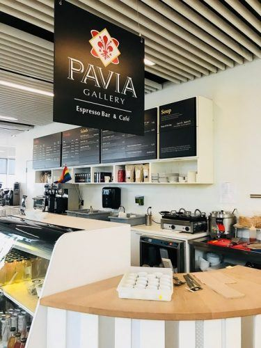 Pavia Gallery Cafe at the Halifax Public Library
