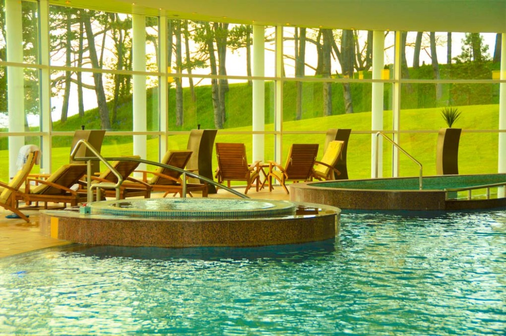 The pool at The Spa at Turnberry