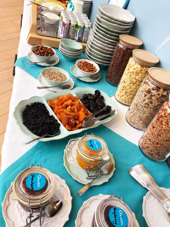 le-chevalier-riga breakfast buffet