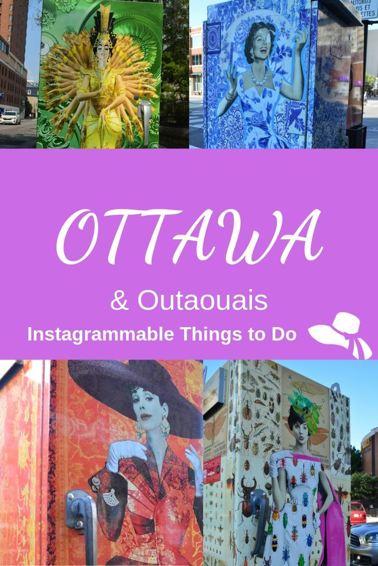 Forget the typical boring capital city - there are so many Instagrammable & Fun Things to do in Ottawa & the surrounding Outaouais region - I found 17 to experience! #ottawa #myottawa #canada