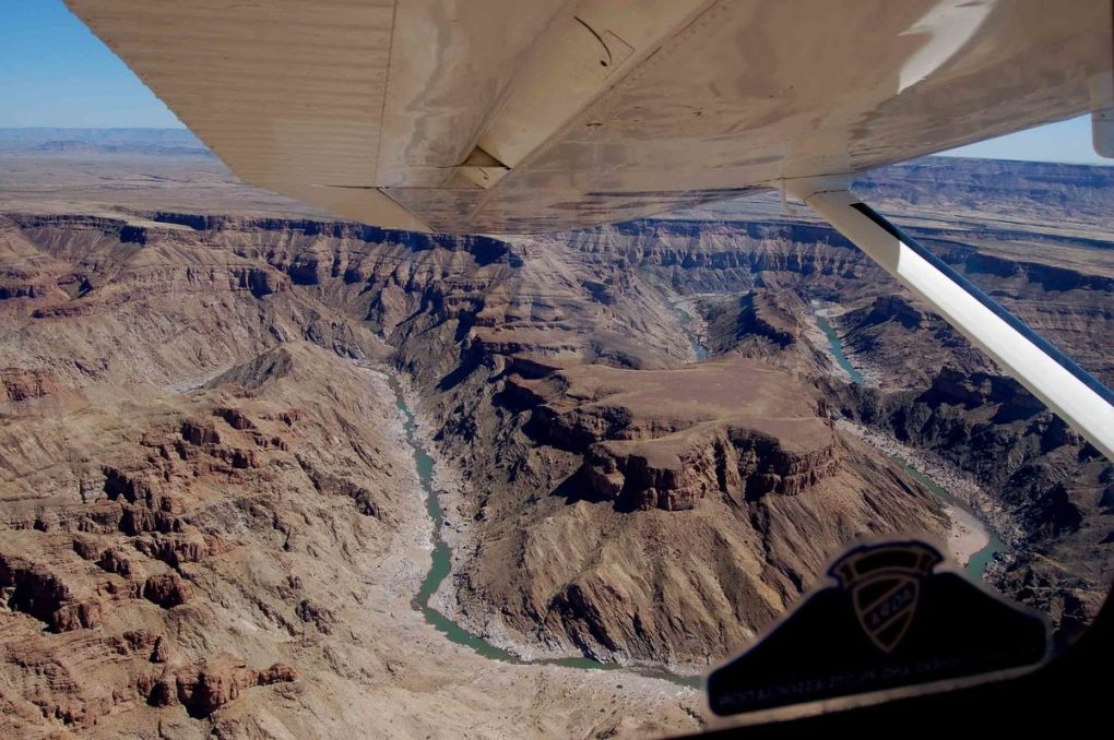 Namibia_fish-river-canyon-view-from-plane-canyon