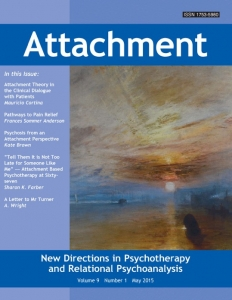 Attachment Journal latest edition